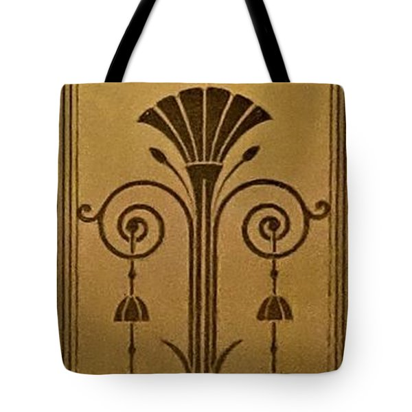 Severance Hall Art Deco Panel Tote Bag
