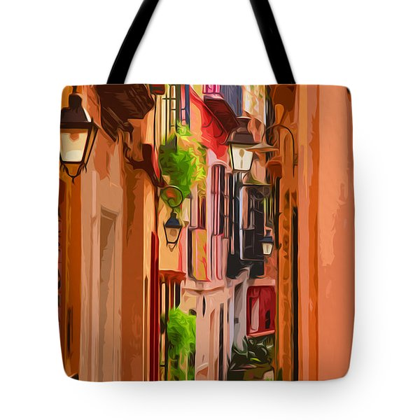 Seville, Colorful Spain Tote Bag