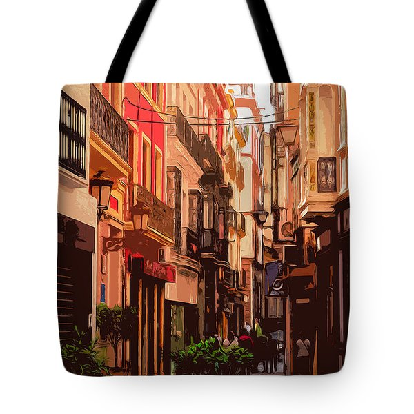 Seville, The Colorful Streets Of Spain - 02 Tote Bag