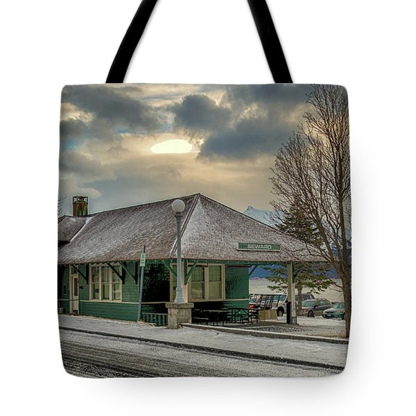 Tote Bag featuring the photograph Seward Alaska 2017 by Michael Rogers