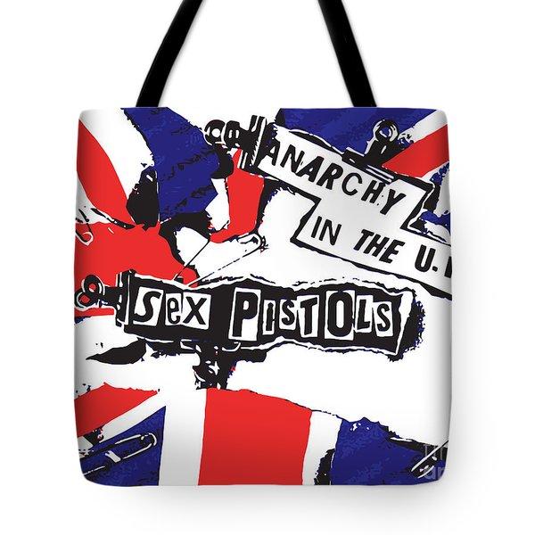 Sex Pistols No.02 Tote Bag by Caio Caldas