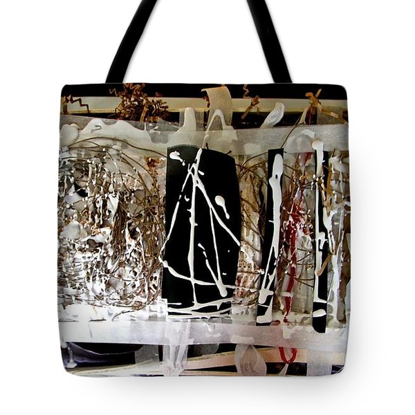 Tote Bag featuring the photograph S'exposer  by Danica Radman