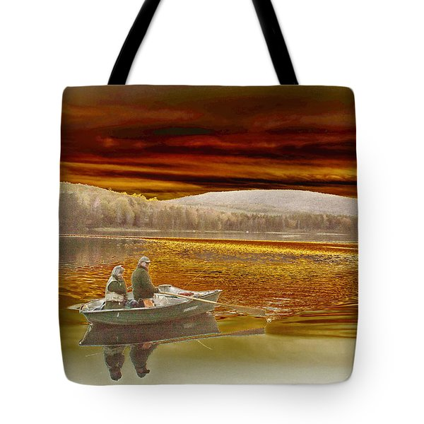 Seyon Sunset Tote Bag by Paul Miller