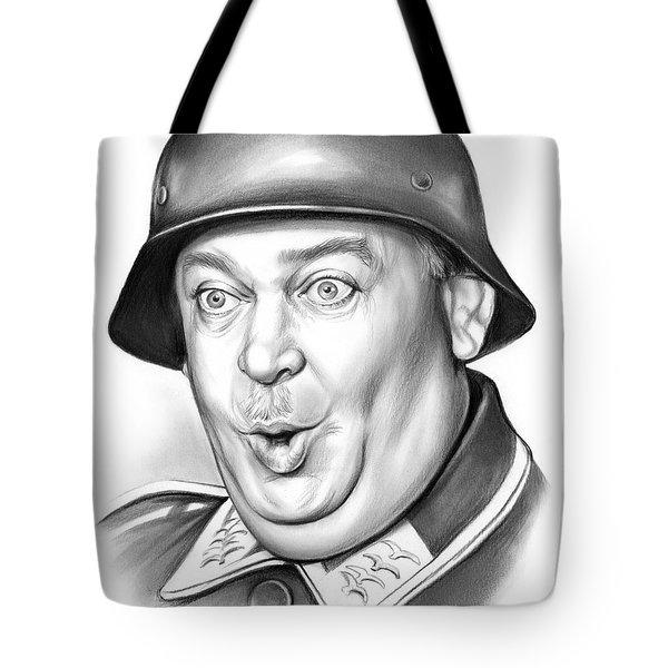 Sgt Schultz Tote Bag