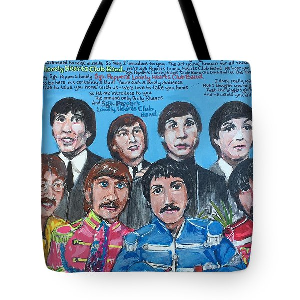 Sgt.pepper's Lonely Hearts Club Band Tote Bag