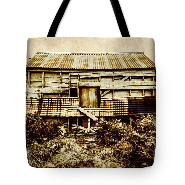 Shabby Country Cottage Tote Bag