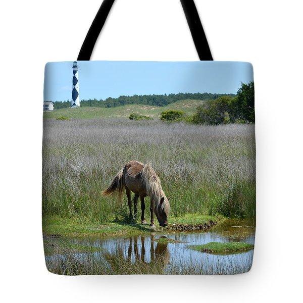 Shackleford Pony Tote Bag