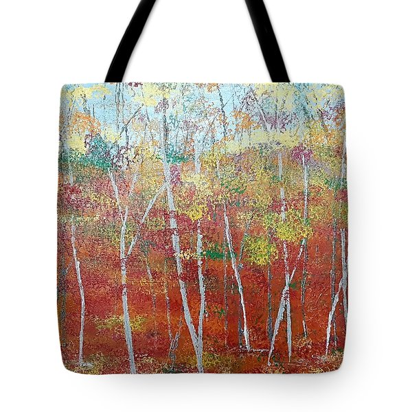 Shades Of Autumn Tote Bag by Judi Goodwin