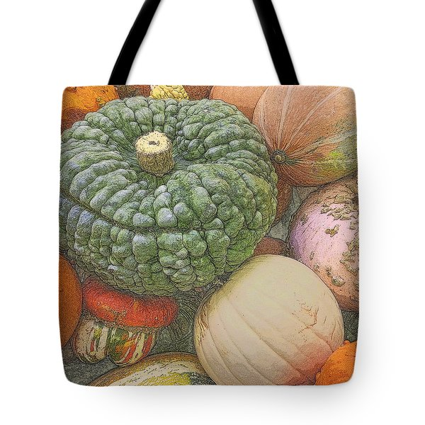 Tote Bag featuring the photograph Shades Of Autumn by Suzy Piatt