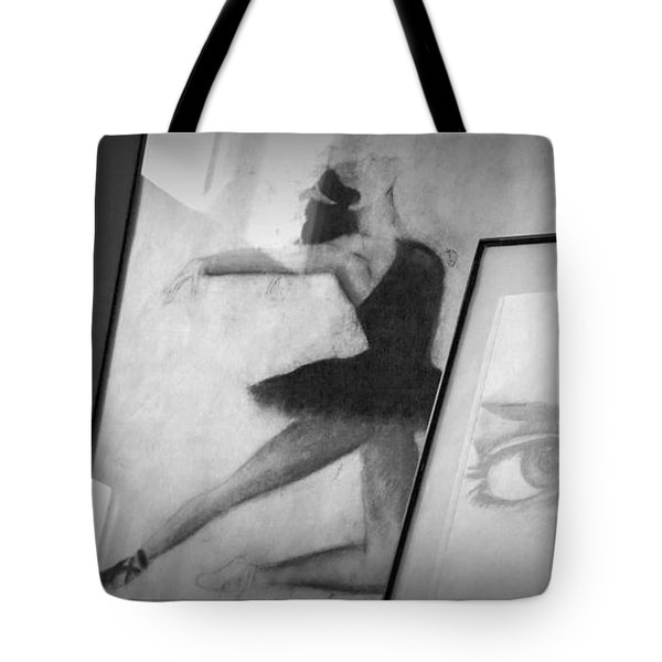Shades Of Black Tote Bag