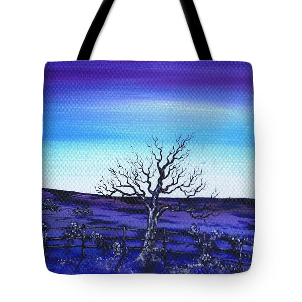 Shades Of Blue Tote Bag by Kenneth Clarke