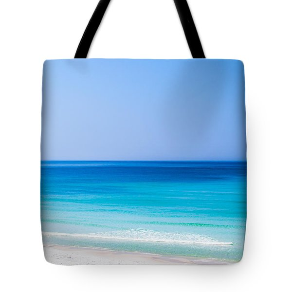 Shades Of Blue Tote Bag by Shelby  Young