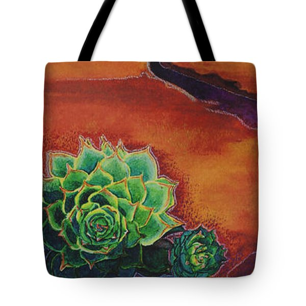 Shades Of Desert Tote Bag