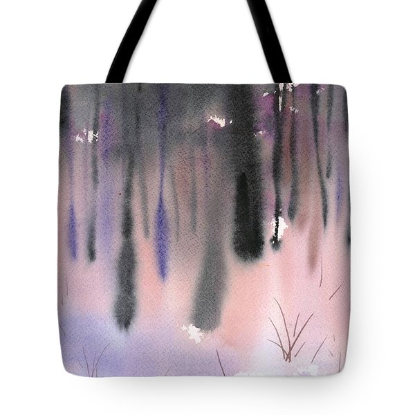 Shades Of Forest Tote Bag