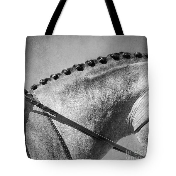 Shades Of Grey Fine Art Horse Photography Tote Bag