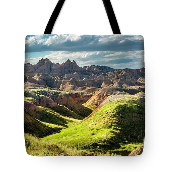 Shades Of Light Tote Bag