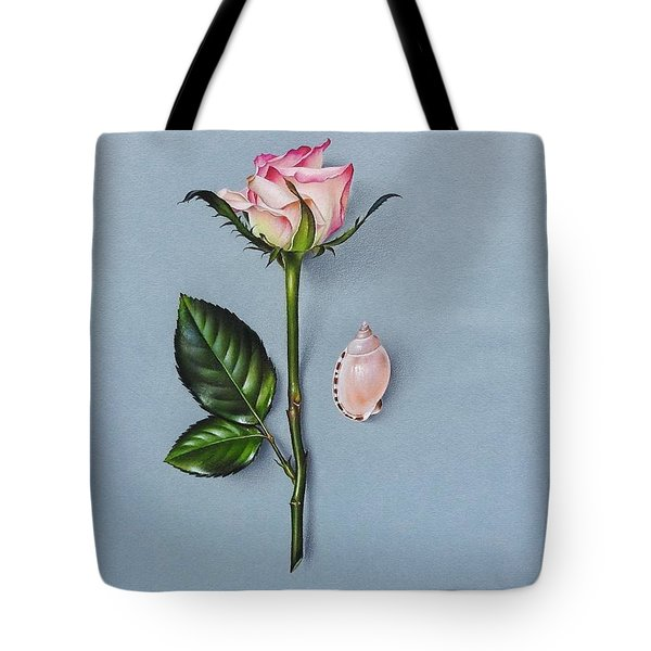Shades Of Pink Tote Bag by Elena Kolotusha