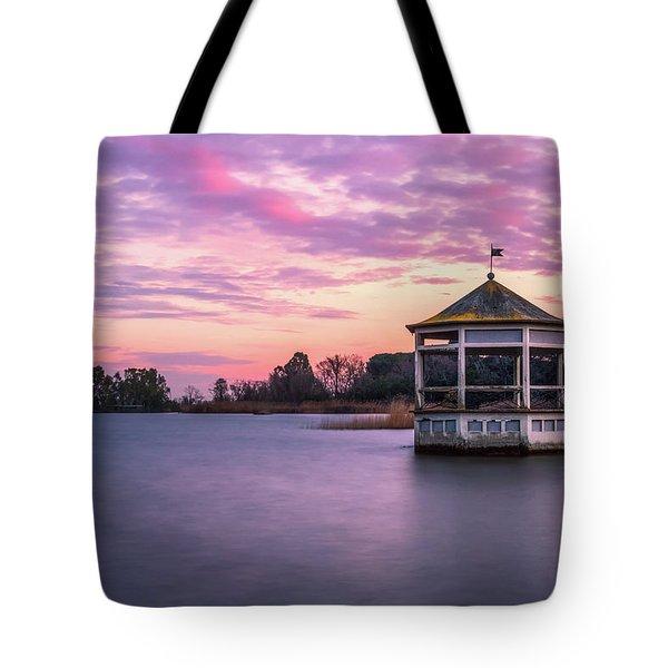 Shades Of Pink Light Tote Bag