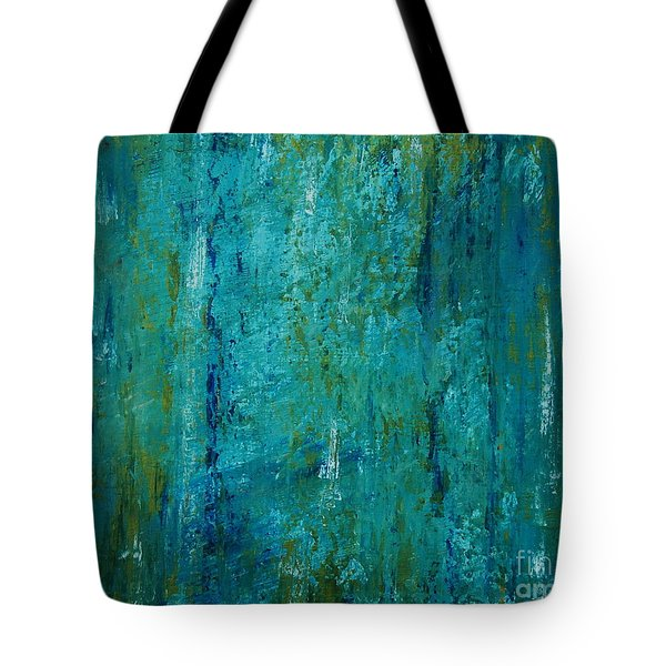 Shades Of The Sea Tote Bag