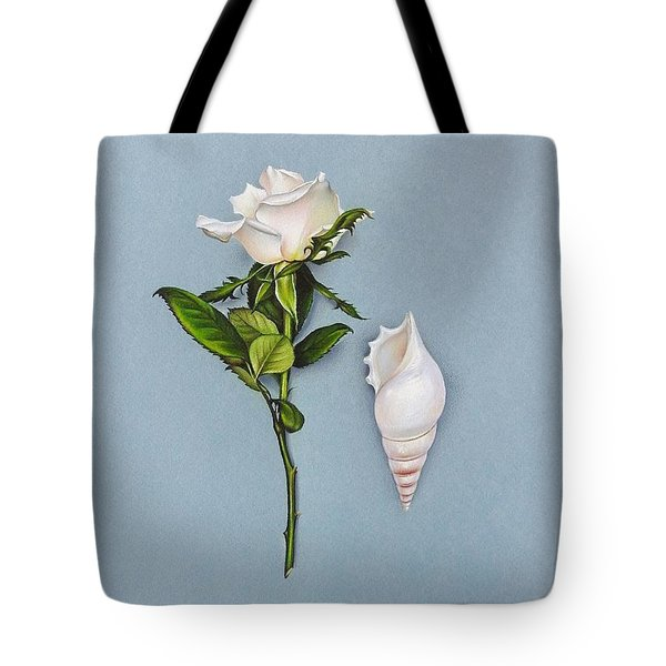 Shades Of White Tote Bag
