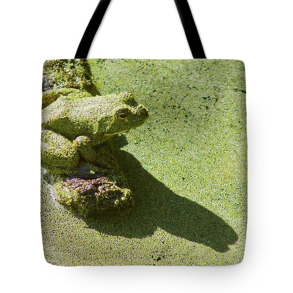Shadow And Frog Tote Bag
