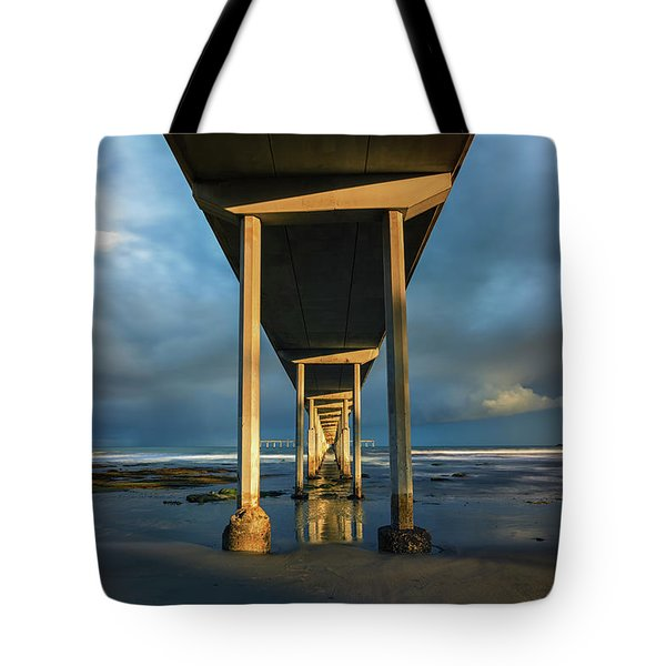 Shadow And Light Tote Bag by Joseph S Giacalone