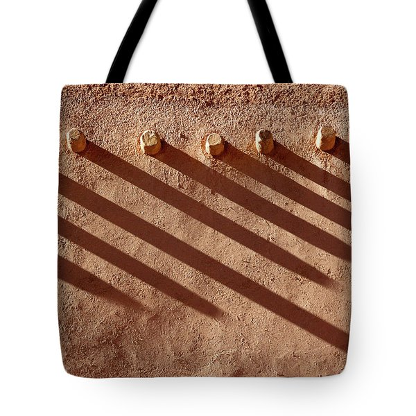 Shadow Beams Tote Bag