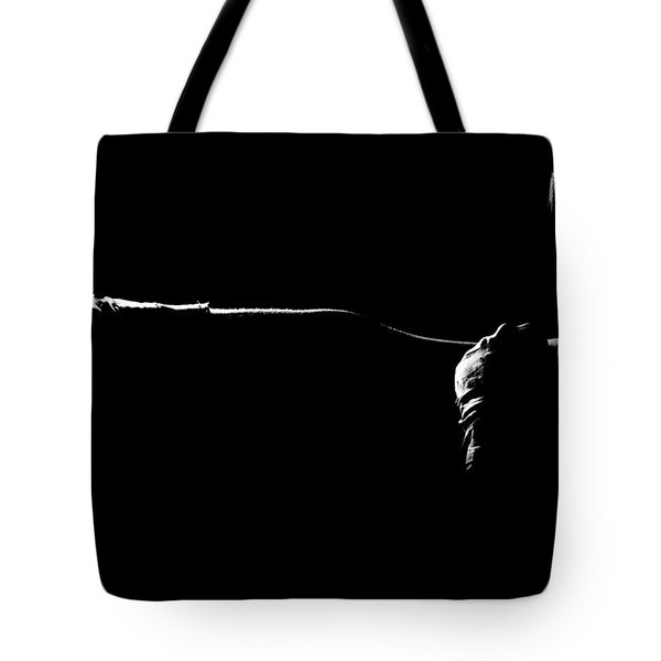 Shadow Boxing Tote Bag by Scott Sawyer