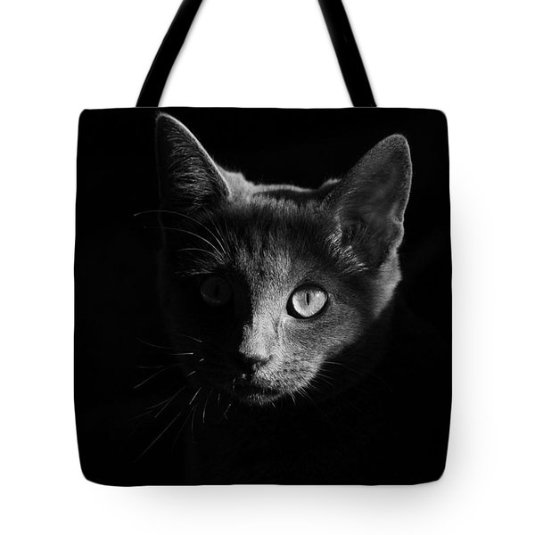 Shadow Cat Tote Bag