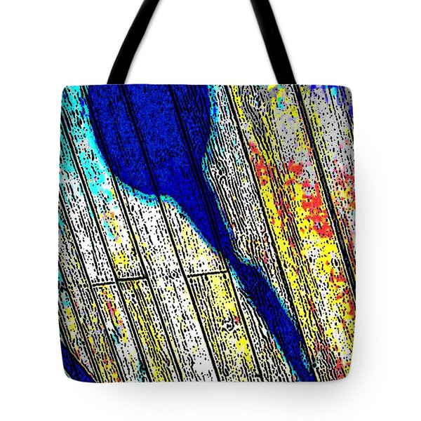 Tote Bag featuring the photograph Shadow by Daniel Thompson