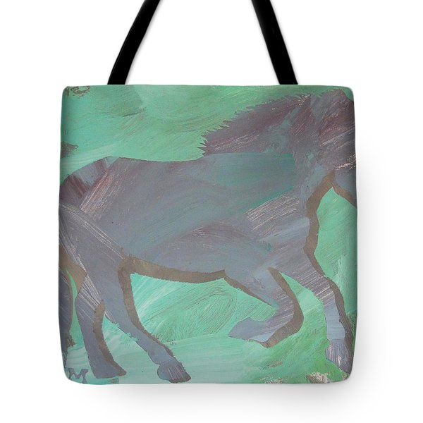 Shadow Horse Tote Bag