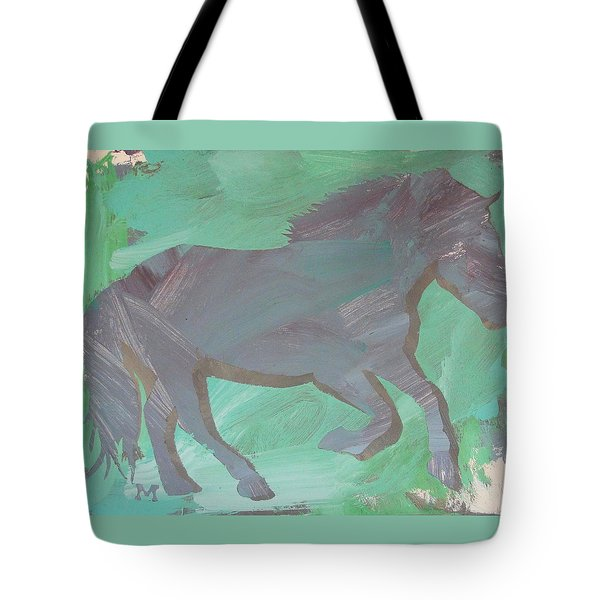 Shadow Horse Tote Bag