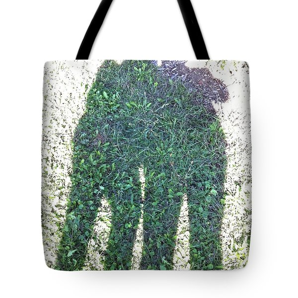 Shadow In The Meadow Tote Bag