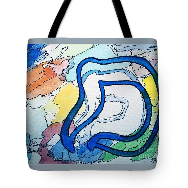 Shadow Mem Tote Bag
