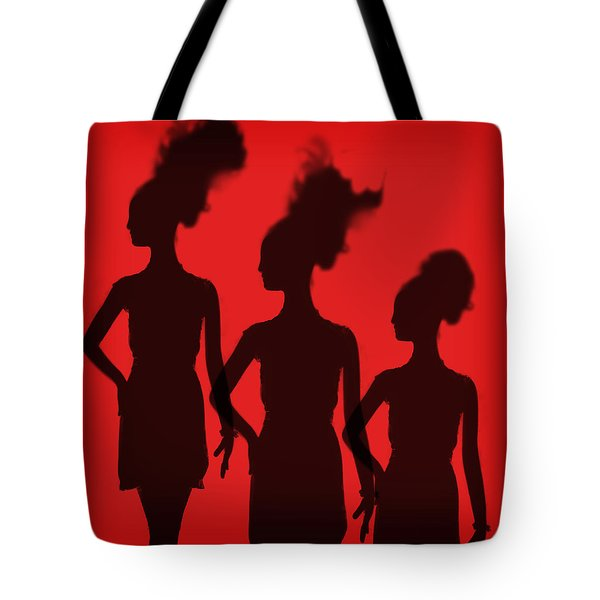 Shadow Of Chic Tote Bag