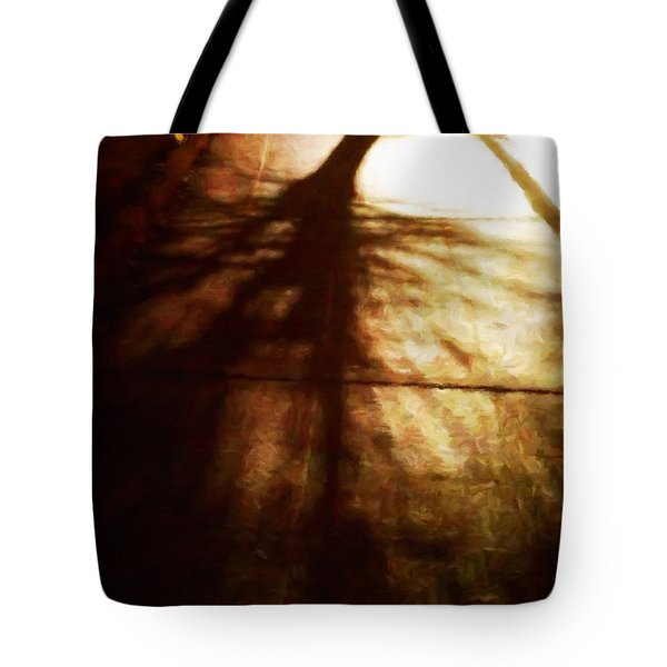 Shadow Of No Doubt Tote Bag