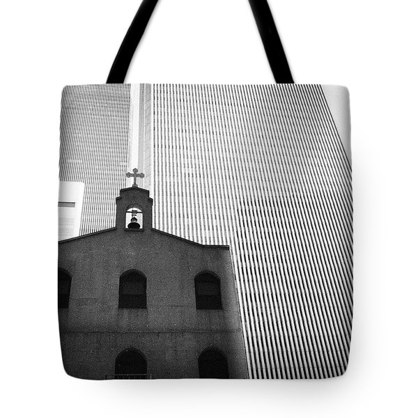 Shadow Of World Trade Center Tote Bag