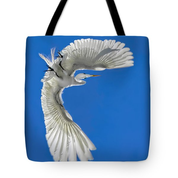 Shadow On A Wing Tote Bag