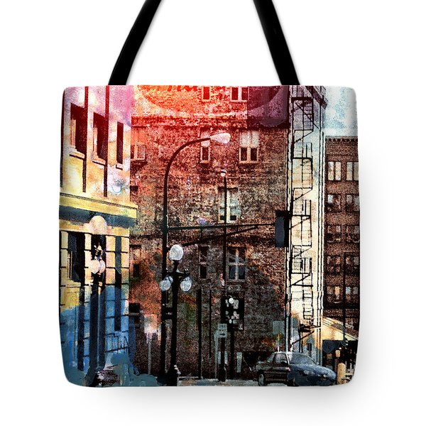 Shadow On St. Paul Tote Bag