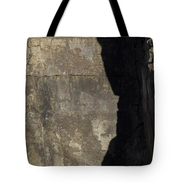 Shadow On The Stone Tote Bag