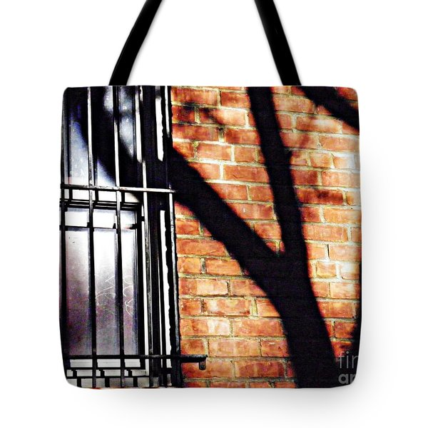Shadow On The Wall Tote Bag by Sarah Loft