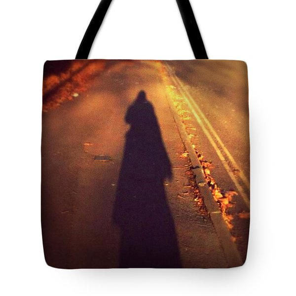 Shadow Tote Bag by Persephone Artworks