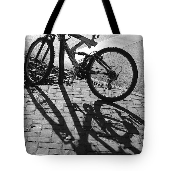 Shadow Play Tote Bag