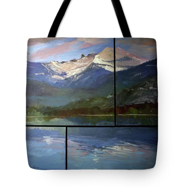 Shadow Side Of Winter Tote Bag
