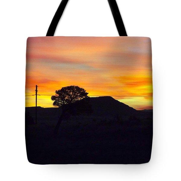 Shadow Tree Tote Bag by Adam Cornelison