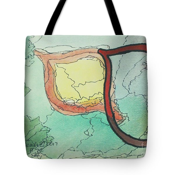 Shadow Yud Tote Bag