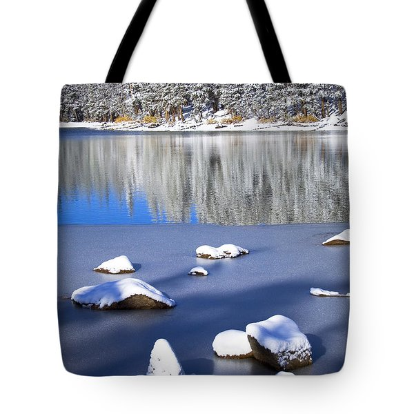 Shadowed Coolness Tote Bag by Chris Brannen