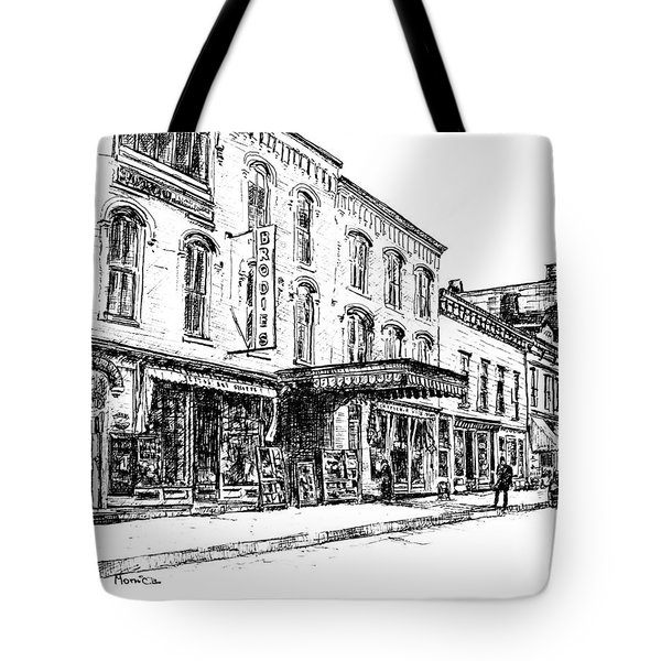 Shadowland Theater Tote Bag by Monica Cohen