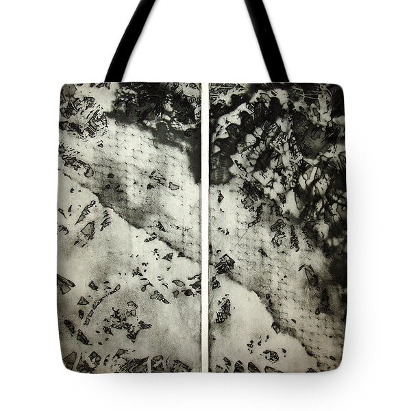 Shadows And Lace Tote Bag by Nancy Mueller