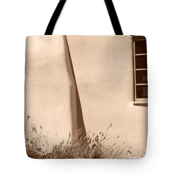 Shadows And Light In Santa Fe Tote Bag